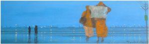 7″x 24″ / Acrylic and gloss enamel on Canvas / 2014
