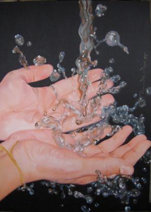 30″x 18″ / Oil and Acrylic on Canvas / 2008